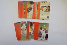 1996/97 Cricket South Australian Redbacks set 15 cards