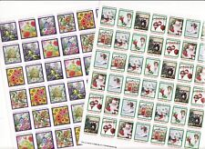 2017 U.S. Christmas Seals & U.S Spring Charity Seals Sheet Collection