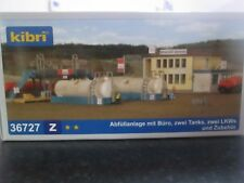 Suitable Marklin spur z scale/gauge Kibri z Small Fuel Depot with Tanks.
