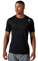 Reebok Men's Tech Short Sleeve Tee Speedwick Athletic Training T-Shirt