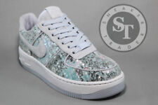 NIKE WOMEN'S W AIR FORCE ONE AF1 UPSTEP 35 917589-500 GLASS SLIPPER DS SIZE: 7