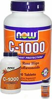 Now Foods VITAMIN C-1000 all sizes - select option