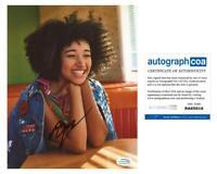 Amandla Stenberg AUTOGRAPH Signed 8x10 Photo E ACOA