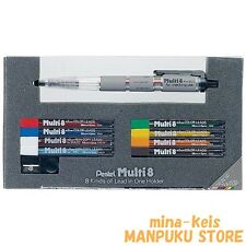 Pentel 2.0mm Mechanical Pencil Japanese Multi 8 colors Pen PH802ST F/S tracking