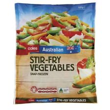 Coles Stir Fry Vegetables 500g