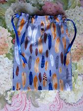 Piume Colorate, Cristalli dei Tarocchi Rune Borsa Wicca Pagano