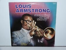 LOUIS ARMSTRONG - STOMPING AT THE SAVOY (SURPRISE, JTU AL 51) LP VINYL 1975 BE
