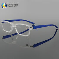 TR90 Extra Lightweight Flexible Optical Reading Glasses +1.00 +1.25 +1.50 ~+3.50