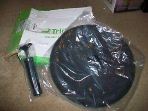 NEW Trideer Balance Cushion 33cm Black with Pump
