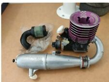RC Motor 21 turbo novarossi Plus 4bbt completo para 1/8