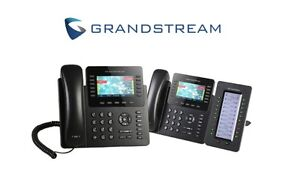 GRANDSTREAM GXP2170 w/ GXP2200EXT Expansion Module BUNDLE - 1 MONTH FREE SERVICE