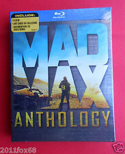 5 art cards + 4 blu ray disc limited edition mad max anthology fury road film gq