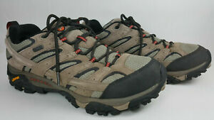 Merrell Moab 2 Leather Trail Hiking Shoes Bark Brown J08871W Size 9.5