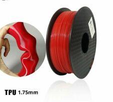 3D Printing Filament TPU Flexible Filament Plastic 1.75mm Printer Materials