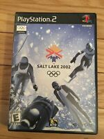 OLYMPICS SALT LAKE 2002 - PS2 - WITH MANUAL - FREE S/H - (SS)