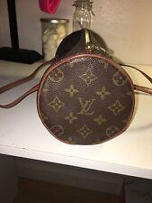 NEW GENUINE LEATHER REAL CUTE CLASSIC Louis Vuitton Papillon Handbag