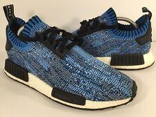50c286be2320 Adidas NMD R1 Blue Camo Black White Boost PK Mens Size 9 Rare BA8598