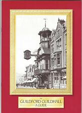 1988 Official Guide to Guildford Guildhall