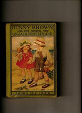 BUNNY BROWN AND HIS SISTER SUE ON JACK FROST ISLAND-L L HOPE-1927 1ST EDITION