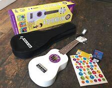 Starmaker Soprano Ukulele Pack Including Tuner , Gig Bag & Stickers RRP 44.99