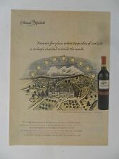 2004 Print Ad Chateau Ste. Michelle Wine ~ Quality of Sunlight Vineyard Art