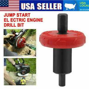 Jump Start Electric Engine Easy Starter Drill Bit Adapter for Troy-Bilt Trimmer