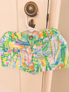 Lilly Pulitzer 6 girls Shorts- Pre-owned