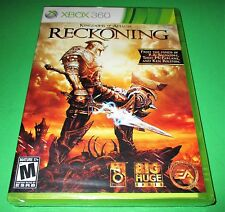 Kingdoms of Amalur: Reckoning Microsoft Xbox 360 *Factory Sealed! *Free Ship!