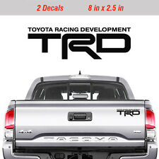 Toyota TRD Truck Off Road Racing Decals Tacoma Tundra Pair Vinyl Sticker 2 decal