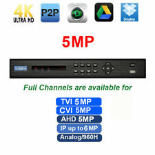 5MP DVR 8CH 4-in-1 Support 5MP & 1080P TVI/AHD & Analog 960H IP cameras Max 6MP