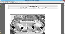 BMW Z4 E85 2003 2004 2005 2006 2007 2008 Factory service repair manual