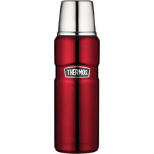 Thermos 16 oz. Stainless King Vacuum Insulated Stainless Steel Compact Bottle