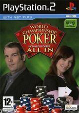World Championship Poker: HOWARD LEDERER ALL IN per PS2, NUOVO, ITALIANO