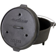 Camp Chef Deluxe Dutch Oven DO-12   Gusseisen Gusstopf Bräter