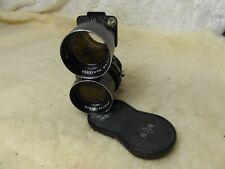 MAMIYA C3 reflex bi-objectif appareil photo 135 mm Objectif F4.5 point bleu C330 C33 C220 etc