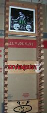 Sevendust Drumstick rack with picture frame holds 20 pairs Pinewood