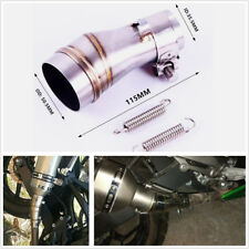Motorcycle Exhaust Pipe 51mm to 35mm Converter Muffler Interface Welding Adapter