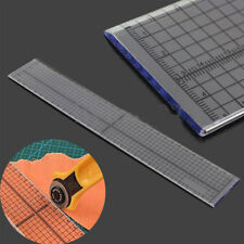 30cm Quilting Sewing Patchwork Foot Aligned Ruler Grid Cutting Edge Tailor Craft