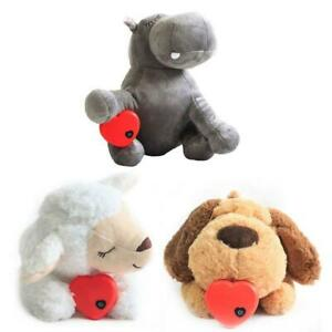 Pet Plush Animal Calming Toy with Heartbeat Relieve Anxiety Behavioral Aid Sleep