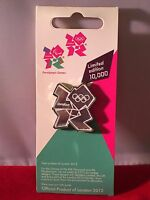 London 2012 Olympics MIRROR LOGO Enamel Pin Badge Limited Edition BRAND NEW