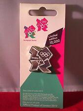 London 2012 Olympics MIRROR LOGO Enamel Pin Badge Limited Edition BRAND NEW