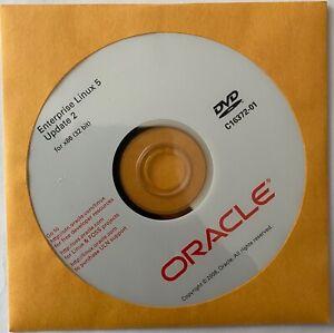 Oracle - Enterprise Linux 5 - Update 2 - DVDs - C16372-01, C16409-01