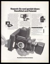 1976 Hasselblad 500 C/M camera photo German vintage print ad