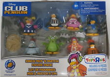 Disney Club Penguin 8 Figure Pack Jakks Pacific  New in Box ToysRUs Exclusive