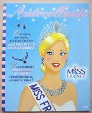 LIVRE avec autocollants - MISS FRANCE