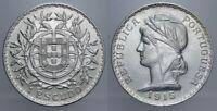 1 ESCUDO 1915 REPUBBLICA PORTOGHESE PORTOGALLO