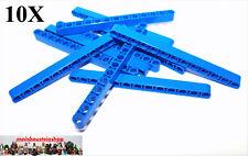 LEGO 10 x Technik Platte 2x8 blau blue technic plate 3738 373823