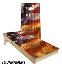 Slick Woody's We The People Cornhole Board Game Set - Quality Made in the USA!!