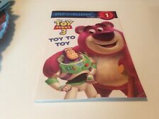 Disney Pixar Toy Story 3 Toy To Toy Step Into Reading Step 1 Book