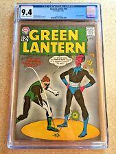 GREEN LANTERN #18 CGC NM 9.4; OW-W; Gil Kane Sinestro cvr/art!
